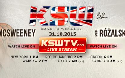 """Płocki Barbarzyńca """"RÓŻAL"""" będzie walczył na gali KSW 32: Road to Wembley"""