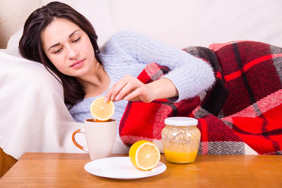 naturalny antybiotyk na przeziębienie grypę